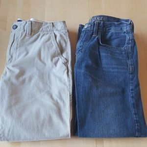 American Eagle Lot of Pants- Khakis and Jeans